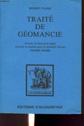Traite De Geomancie - Couverture - Format classique