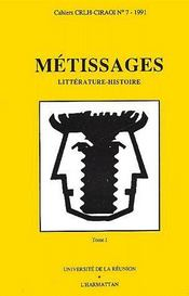 Métissages t.1 - Couverture - Format classique