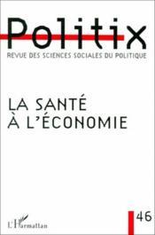 La santé à l'économie - Couverture - Format classique