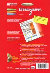 Guidexpress dreamweaver 3 - 4ème de couverture - Format classique