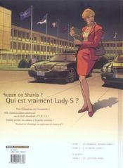 Lady S. t.2 ; à ta santé, Suzie! - 4ème de couverture - Format classique