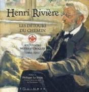 Les détours du chemin ; souvenirs, notes et croquis 1864-1951 - Couverture - Format classique