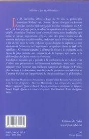 Lire Quine - 4ème de couverture - Format classique