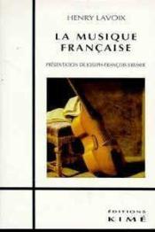 Musique Francaise (La) - Couverture - Format classique