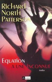 Equation A Une Inconue - Intérieur - Format classique
