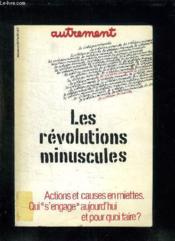 Revolutions Minuscules - Couverture - Format classique
