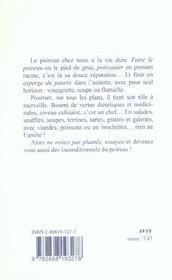 La cuisine du poireau - 4ème de couverture - Format classique