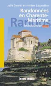 Randonnees en charente-maritime - Couverture - Format classique