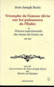Triomphe De L'Amour Divin Sur Les Puissances De L'Enfer - Couverture - Format classique