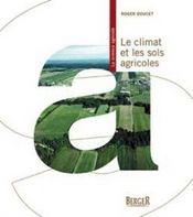 Le climat et les sols agricoles - Intérieur - Format classique
