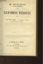 Illusions Perdues - Tome 1 - Les Deux Poetes - Un Grand Homme De Province A Paris - Couverture - Format classique