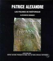 Patrice alexandre - Couverture - Format classique