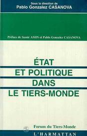 Etat Et Politique Dans Le Tiers Monde - Intérieur - Format classique
