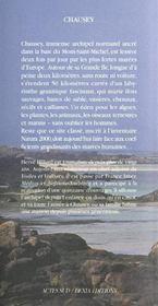 Chaussey - 4ème de couverture - Format classique