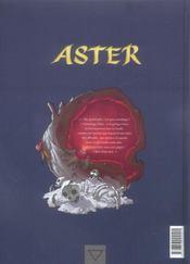 Aster t.3 ; Jajnah - 4ème de couverture - Format classique