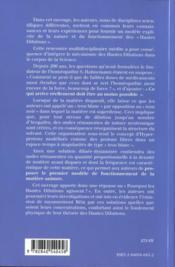 Theories Des Hautes Dilutions Et Aspects Experimentaux - 4ème de couverture - Format classique