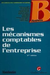 Mecanismes comptables entrepr. - Couverture - Format classique
