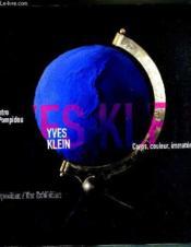 Yves klein - Couverture - Format classique