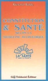 Constitution Et Sante (Maisnie - Couverture - Format classique