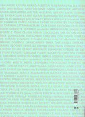 Glossaire des termes rares dans l'oeuvre d'aime cesaire - 4ème de couverture - Format classique