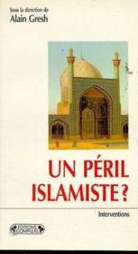Un péril islamiste - Couverture - Format classique