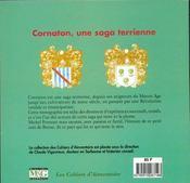 Cornation ; un terroir de Bresse au fil du temps - 4ème de couverture - Format classique