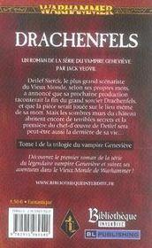 Drachenfels - 4ème de couverture - Format classique