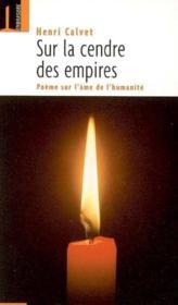 Sur La Cendre Des Empires - Couverture - Format classique