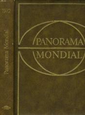 Panorama Mondial, Encyclopedie Permanente. 1972. - Couverture - Format classique