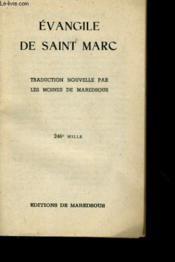 Evangile De Saint Marc - Couverture - Format classique