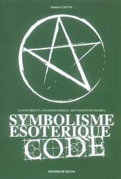 Symbolisme Esoterique Code - Intérieur - Format classique