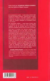 Patiences Et Silences De Philippe Soupault - 4ème de couverture - Format classique