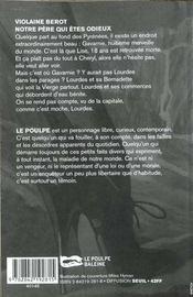 Notre Pere Qui Etes Odieux - 4ème de couverture - Format classique