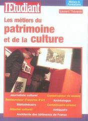 Les metiers du patrimoine et de la culture - Intérieur - Format classique