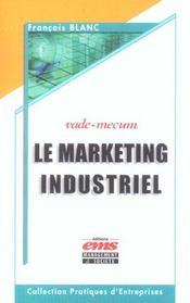 Marketing Industriel - Vade-Mecum - Intérieur - Format classique