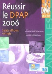 Reussir Le Dpap 2006 - Intérieur - Format classique