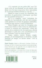 La cuisine de la courgette - 4ème de couverture - Format classique