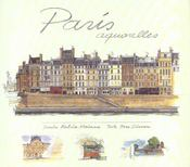 Paris ; aquarelles - Intérieur - Format classique