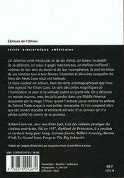 J'Ai Tue Phil Shapiro - 4ème de couverture - Format classique