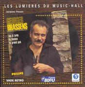 Georges brassens - Intérieur - Format classique