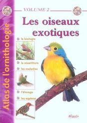 Atlas Oiseaux Exotiques - Intérieur - Format classique