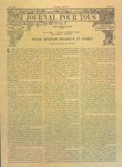 Journal Pour Tous N°19 du 07/05/1961 - Couverture - Format classique