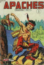 Apaches N° 34. Fleche Rouge. - Couverture - Format classique