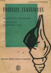Fossiles Classiques. Enchainements Et Determination. - Couverture - Format classique