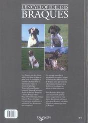 Encyclopedie Des Braques (L') Relie - 4ème de couverture - Format classique