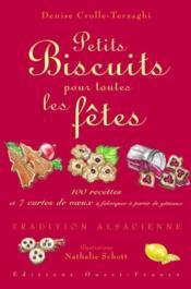 Petits biscuits pour toutes les fêtes - Couverture - Format classique