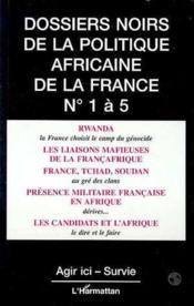 Dossiers Noirs 1 A 5 De La Politique Africaine - Couverture - Format classique