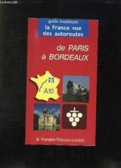 De paris a bordeaux a10 - Couverture - Format classique
