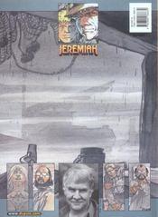 Jeremiah t.26 ; un port dans l'ombre - 4ème de couverture - Format classique