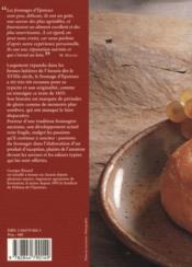 Histoire du fromage d'époisses - 4ème de couverture - Format classique